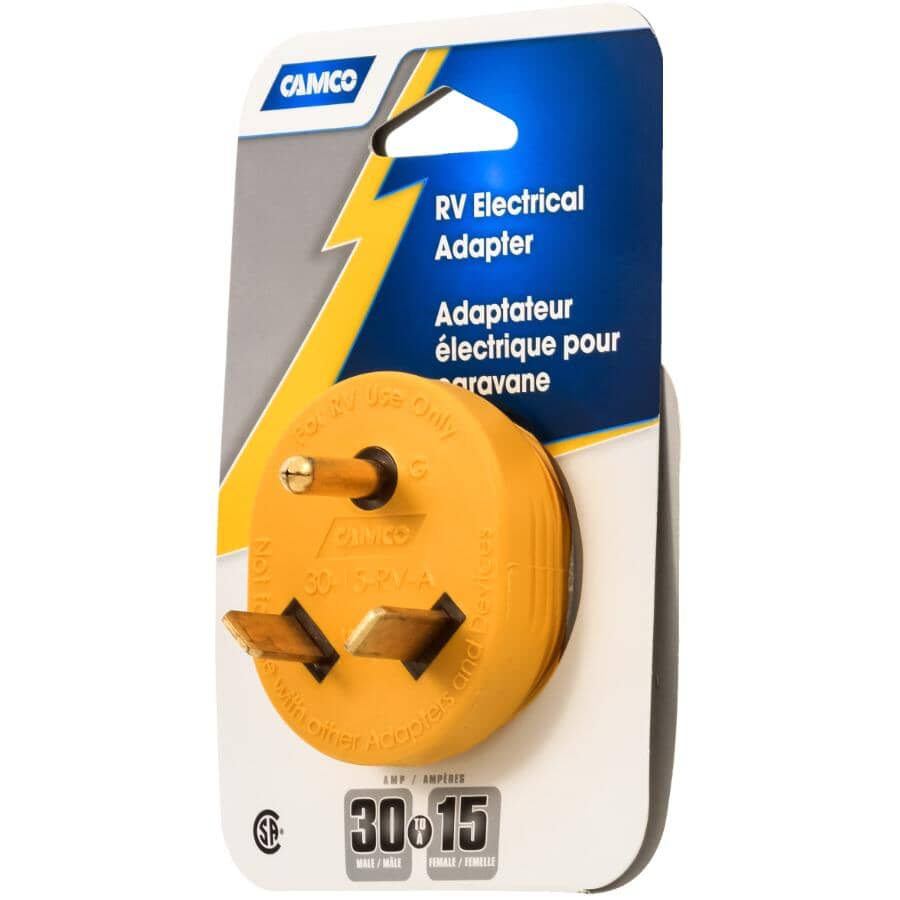 CAMCO:30M/15F RV Electrical Adapter