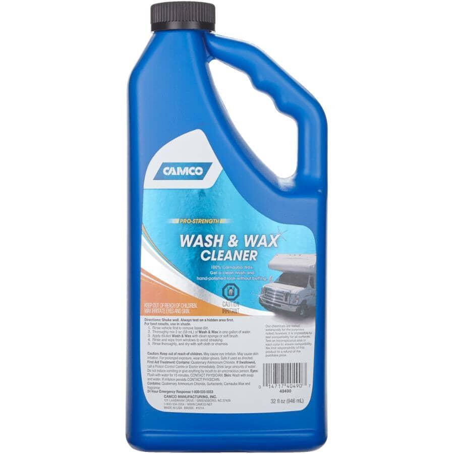 CAMCO:RV Wash & Wax - 32 oz