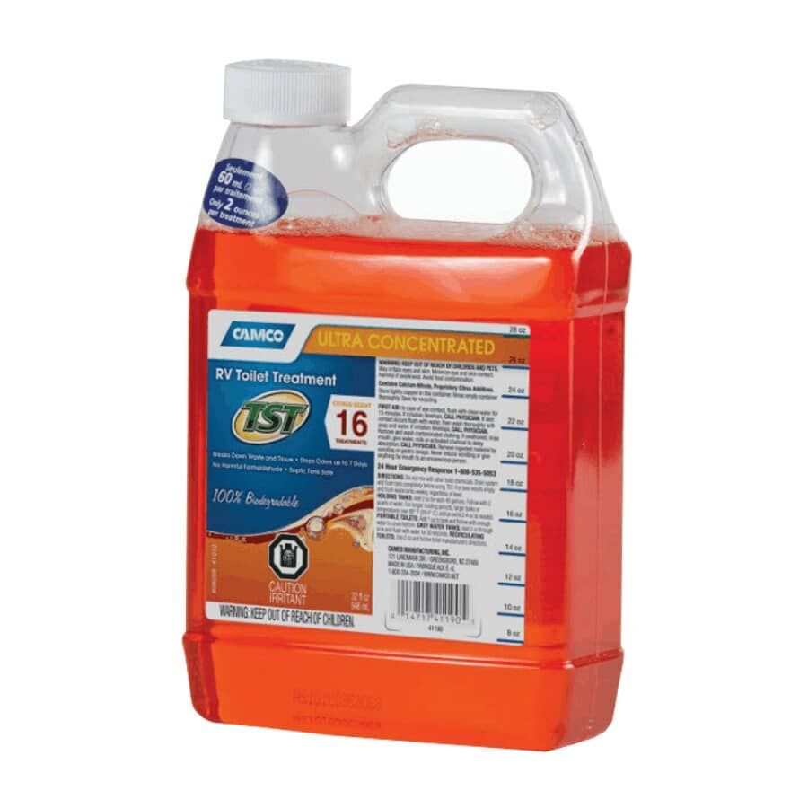 CAMCO:TST Ultra-Concentrated RV Toilet Tank Treatment - Citrus Scent