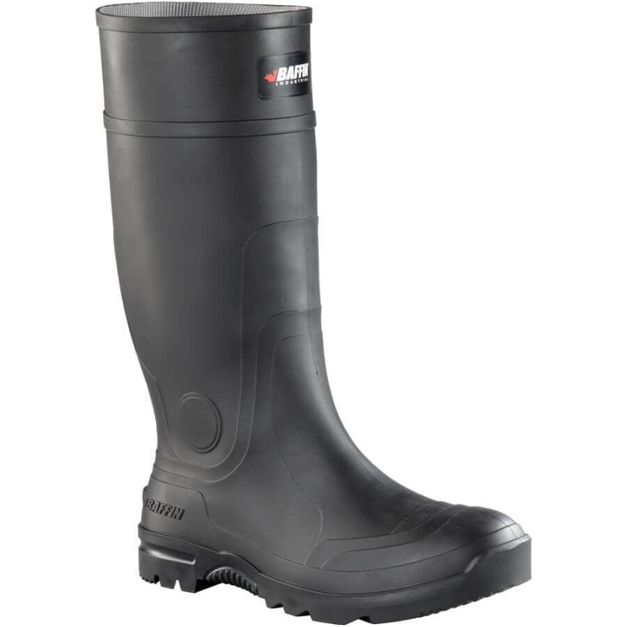 BAFFIN:Men's Blackhawk PLN Rubber Boots - Size 11, Black