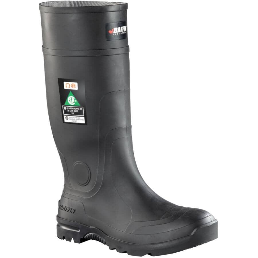 BAFFIN:Men's Blackhawk CSA STP Rubber Boots - Size 11, Black