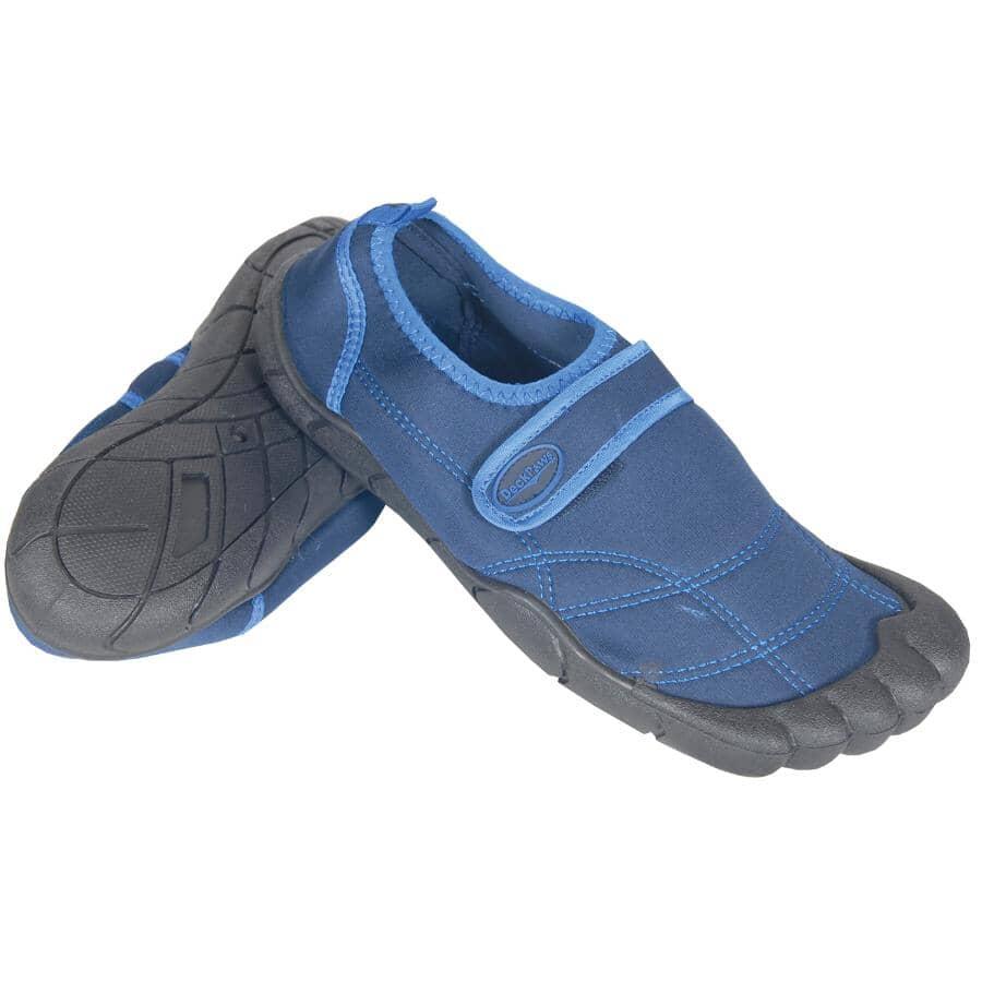 WORLD FAMOUS:Mens Size 7 Muskoka Aqua Sock Shoes