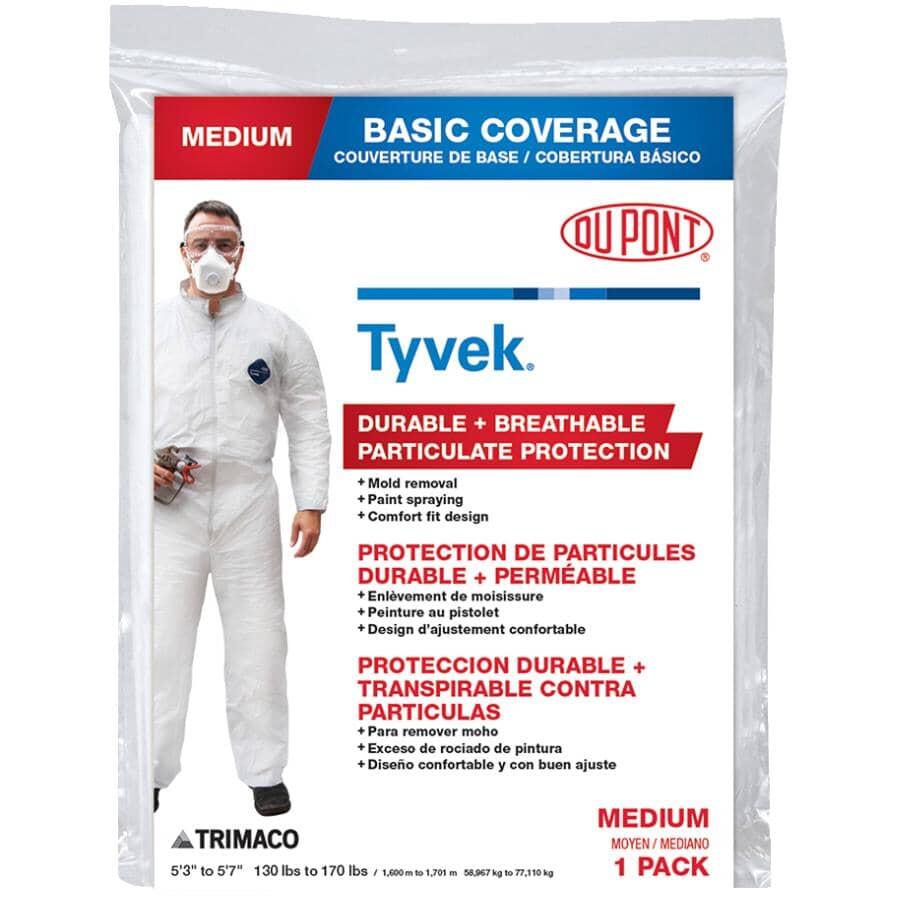 TRIMACO:Combinaison jetable protectrice pour peintre DuPont Tyvek, moyen