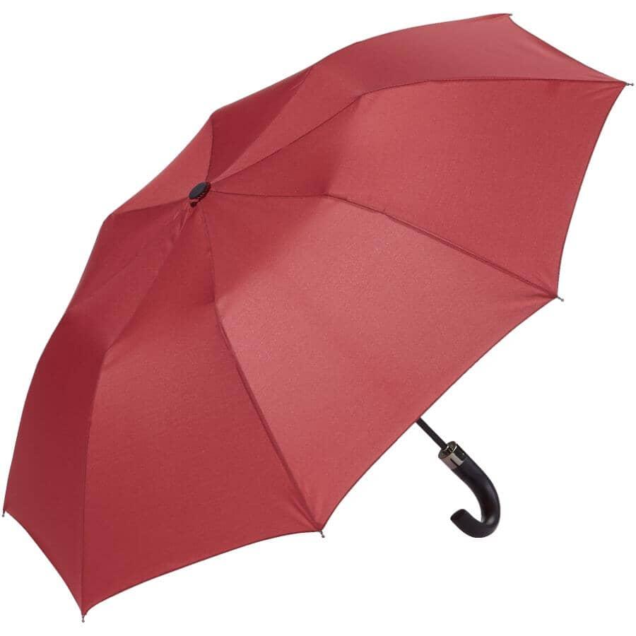 "RAIN-GUARD:36"" Automatic Open Umbrella - with ""J"" Handle, Assorted Colours"