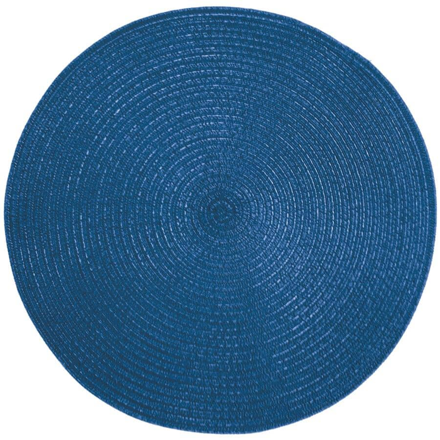 SULLY INNOVATIONS:Round Outdoor Placemat - Blue