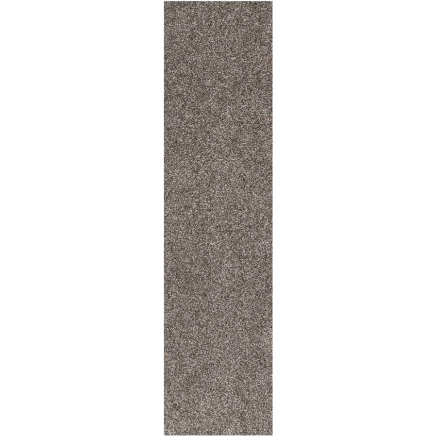 """SHAW FLOOR:Tri-Tone Collection 9"""" x 36"""" Carpet Planks - Pewter, 27 sq. ft."""