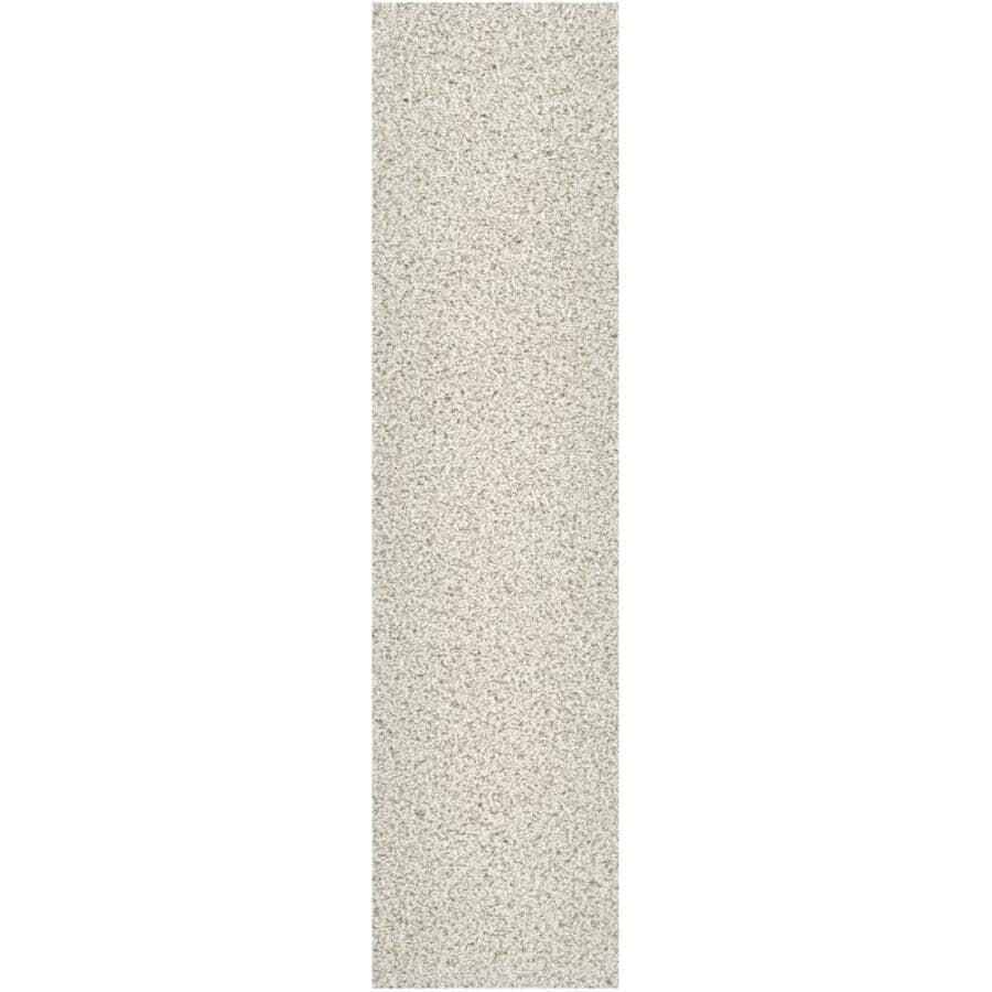 "SHAW FLOOR:Carpet Diem Collection 9"" x 36"" Carpet Planks - Snow Kissed, 18 sq. ft."