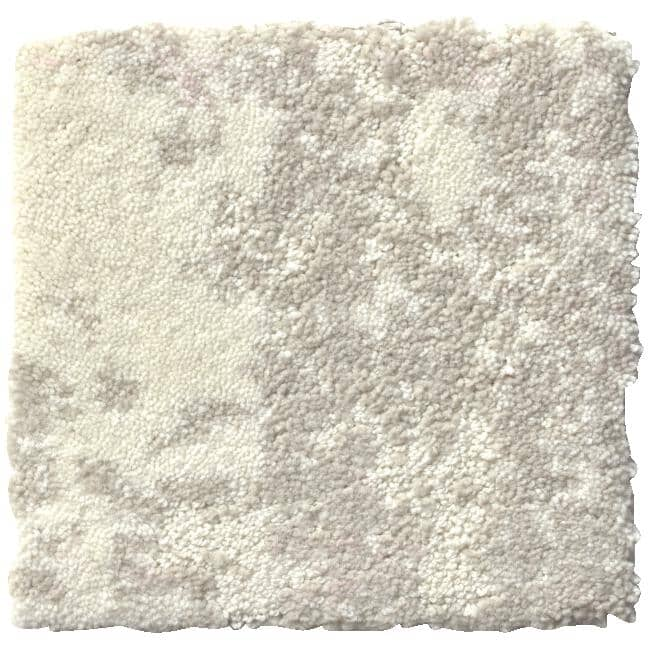 """SHAW FLOOR:Woven Fringe Collection 9"""" x 36"""" Carpet Planks - Snow Kissed, 18 sq. ft."""