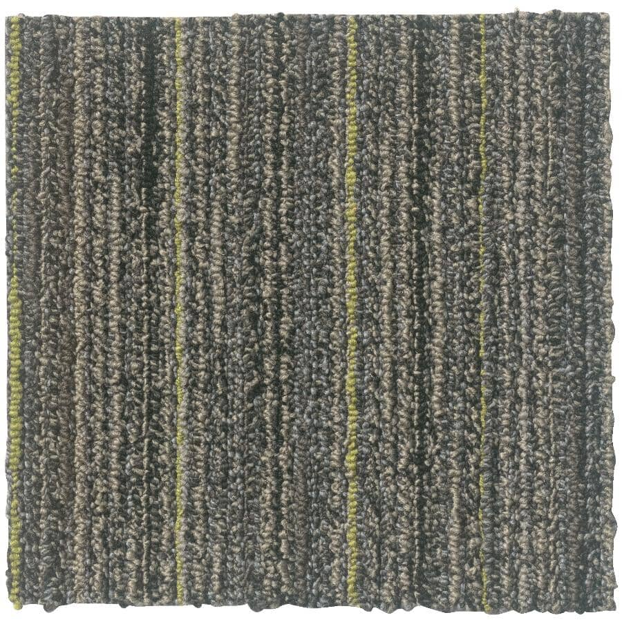 """SHAW FLOOR:Timelapse Collection 9"""" x 36"""" Carpet Planks - Galactic, 36 sq. ft."""