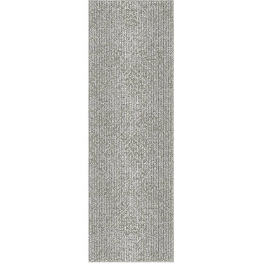 "VENTURE CARPETS:Roomio Collection Greige Carpet Runner - Bogota, 24"" x 72"""