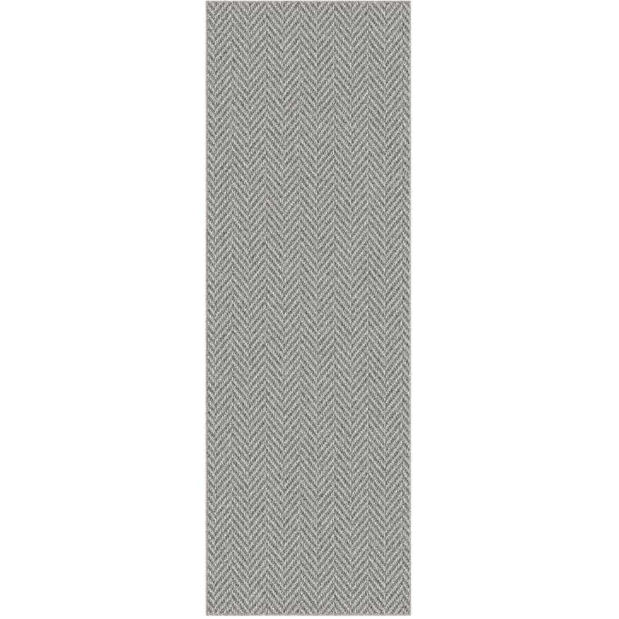 "VENTURE CARPETS:Roomio Collection Grey Carpet Runner - Trident, 24"" x 72"""