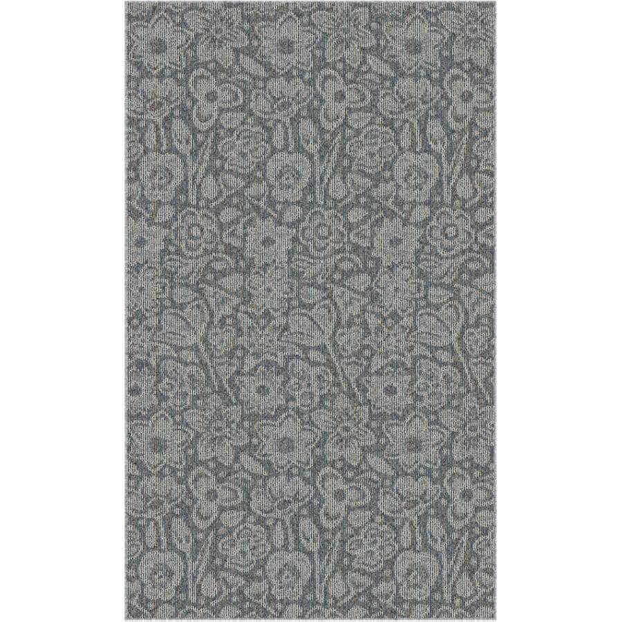 "VENTURE CARPETS:Roomio Collection Grey Accent Mat - Eldorado, 36"" x 60"""