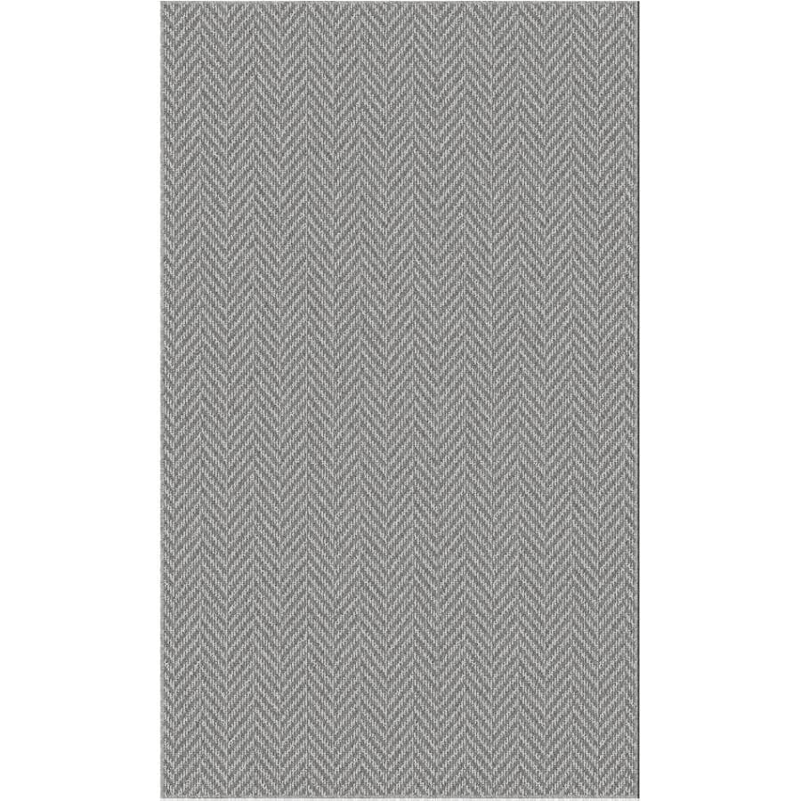 "VENTURE CARPETS:Roomio Trident Accent Mat - Grey, 36"" x 60"""