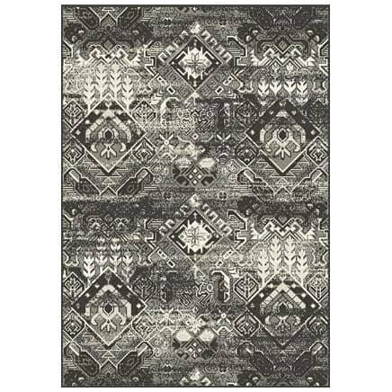 KALORA INTERIORS:6' x 8' Jasper Area Rug - Light Grey to Dark Grey Design