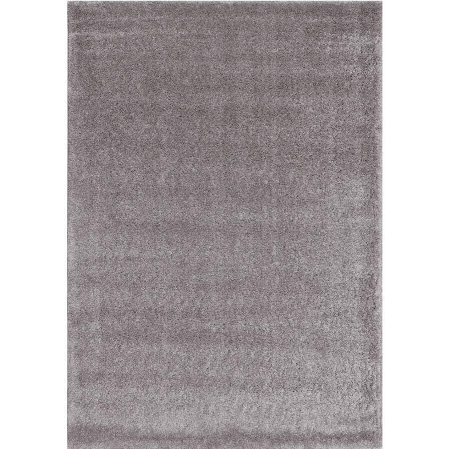 KALORA INTERIORS:8' x 11' Fergus Area Rug - Grey