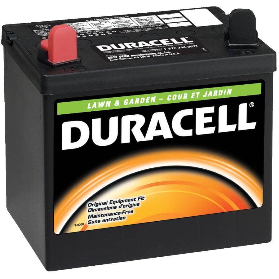 DURACELL:12V 230 CCA Lawn & Garden Battery