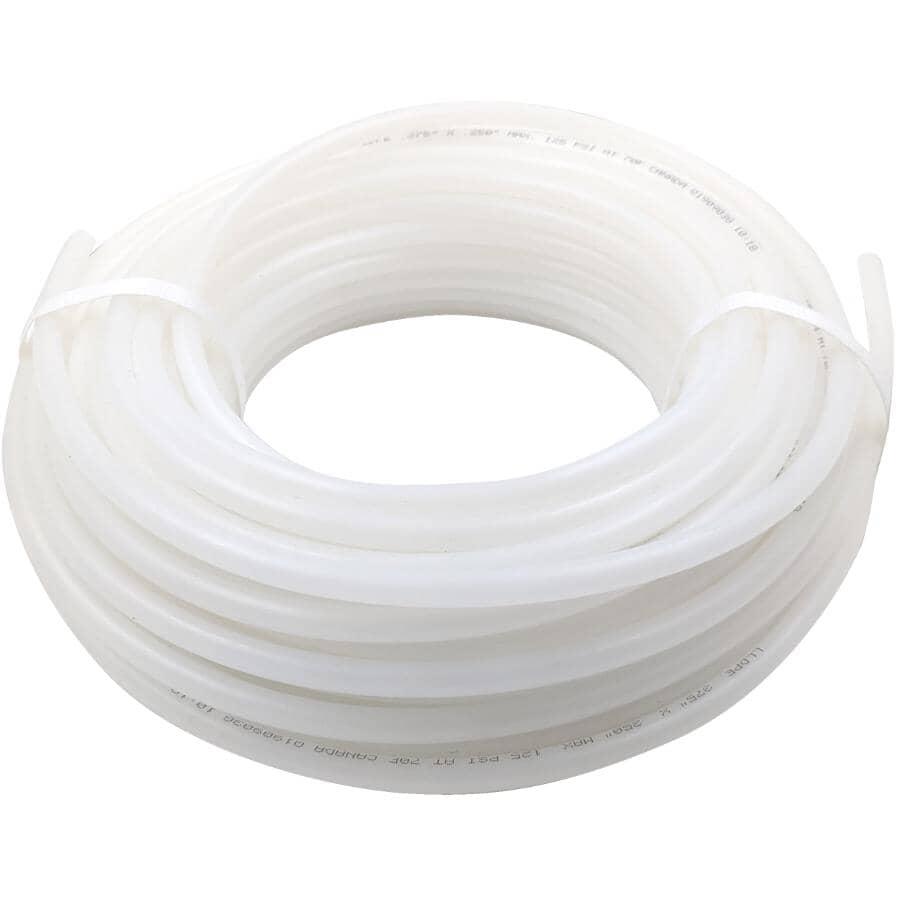 "CANADA TUBING & CASING:Poly Tubing - 1/4"" Inside Diameter x 3/8"" Outside Diameter x 50'"
