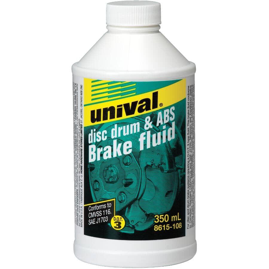 UNIVAL:Disc Drum & ABS Brake Fluid - 350 ml