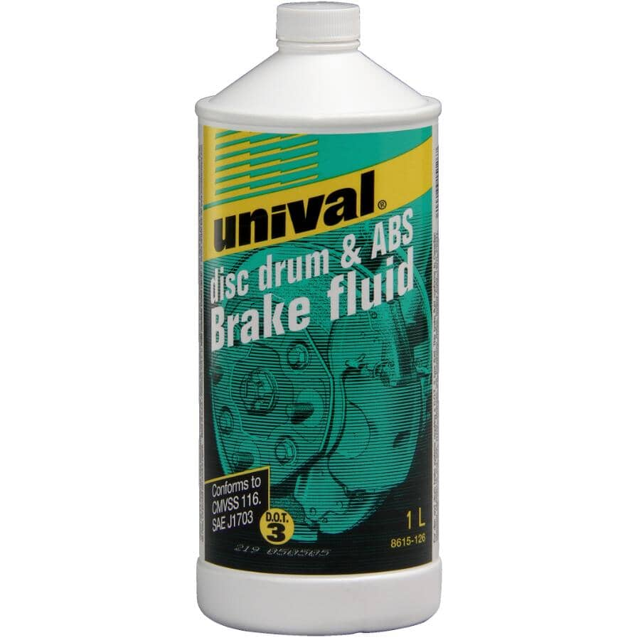 UNIVAL:Disc Drum & ABS Brake Fluid - 1 L