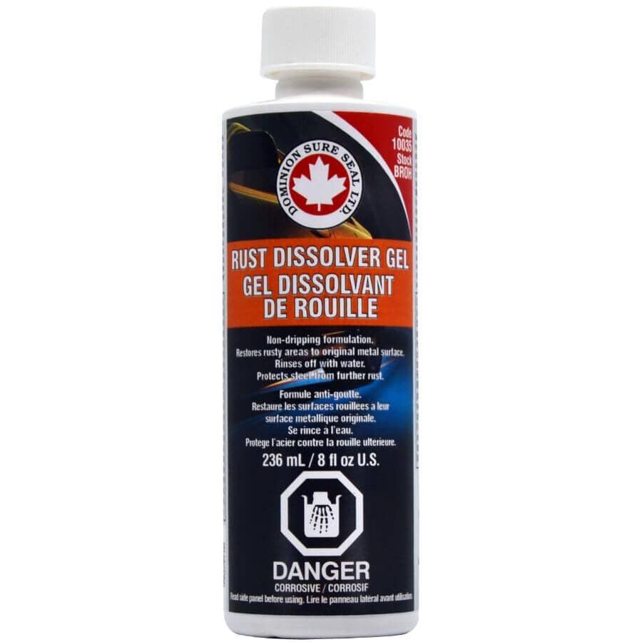 DOMINION SURE SEAL LTD.:Rust Dissolver Gel - 236 ml