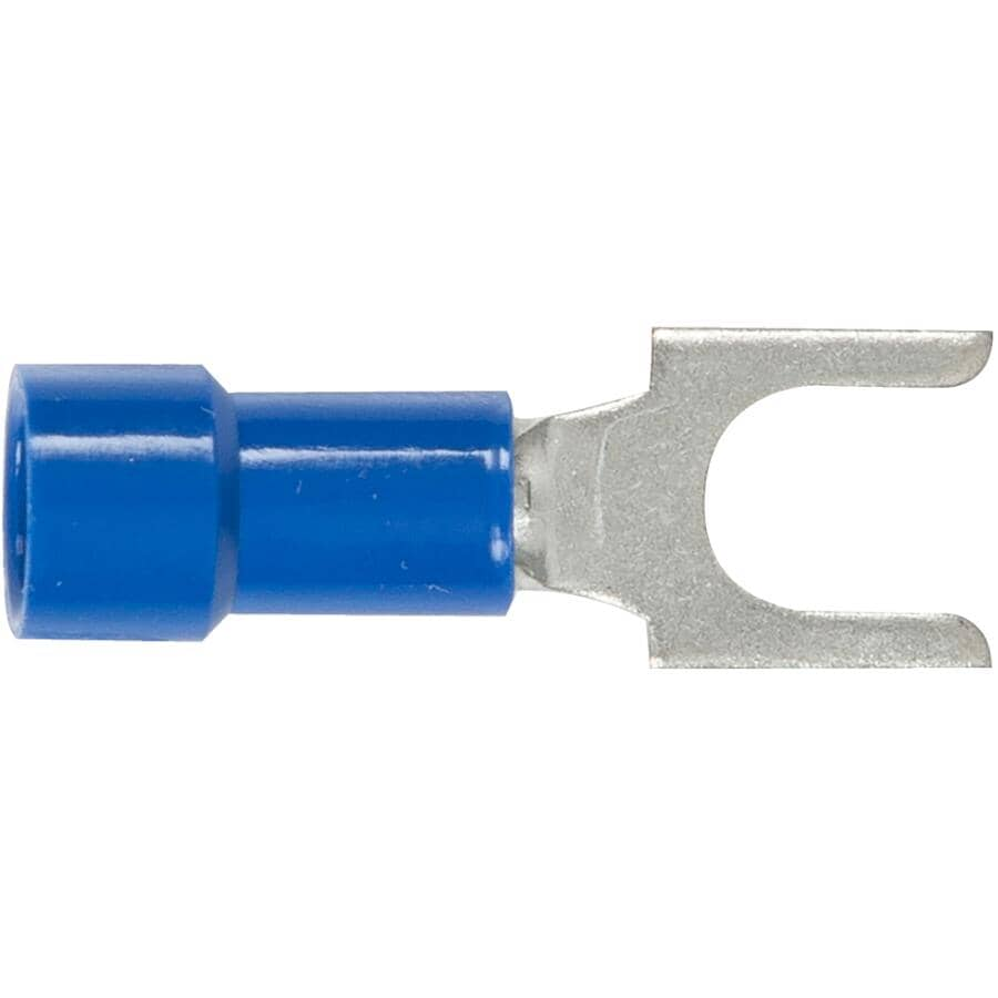 HOME PAK:6 Pack 16-14 #10 Insulated Spade Terminals