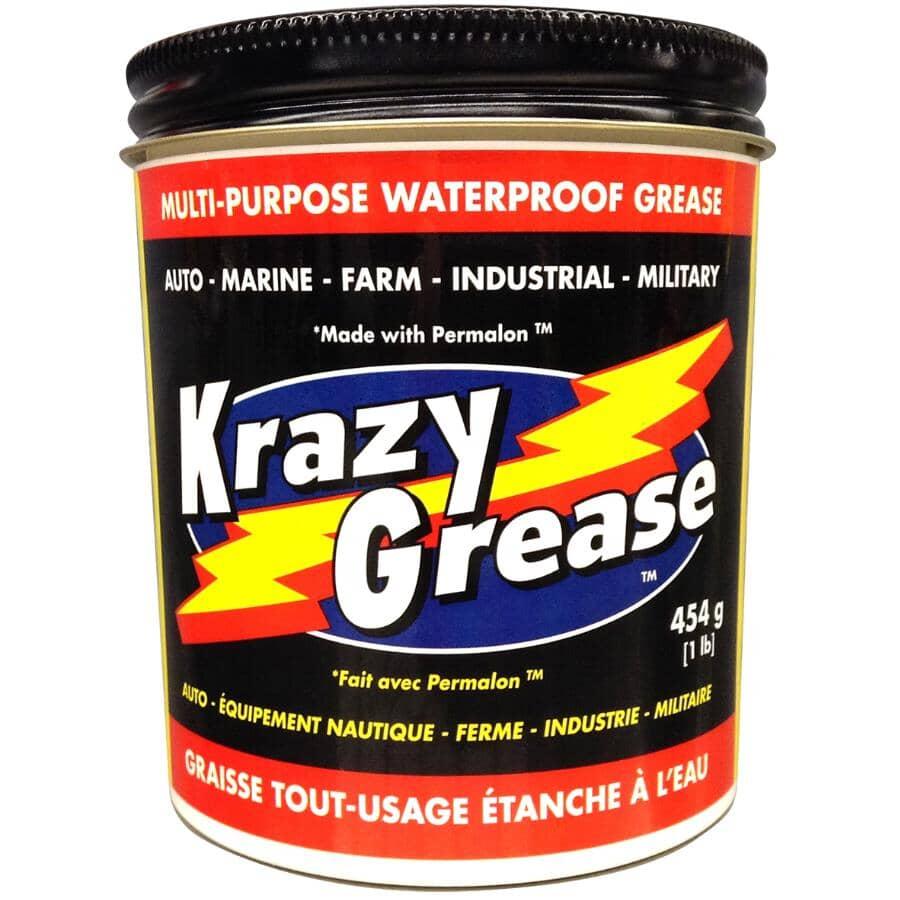 KRAZY GREASE:Multi-Purpose Waterproof Grease  - 1 lb Jar