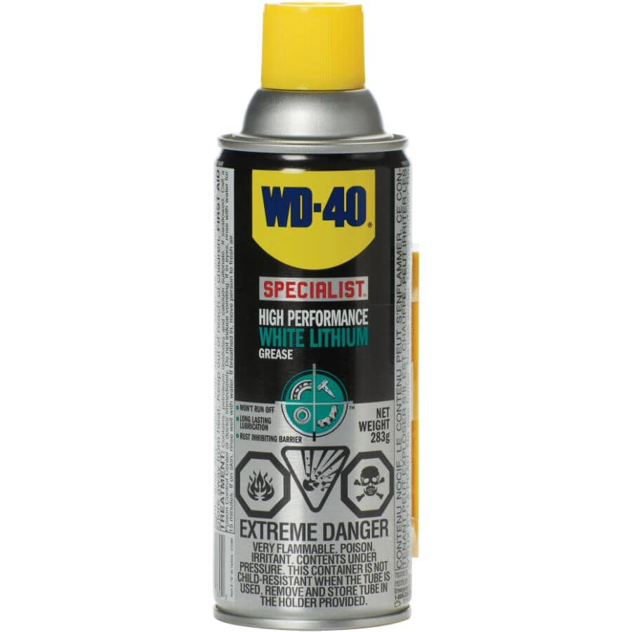 WD-40:Specialist High Performance White Lithium Grease - 286 g