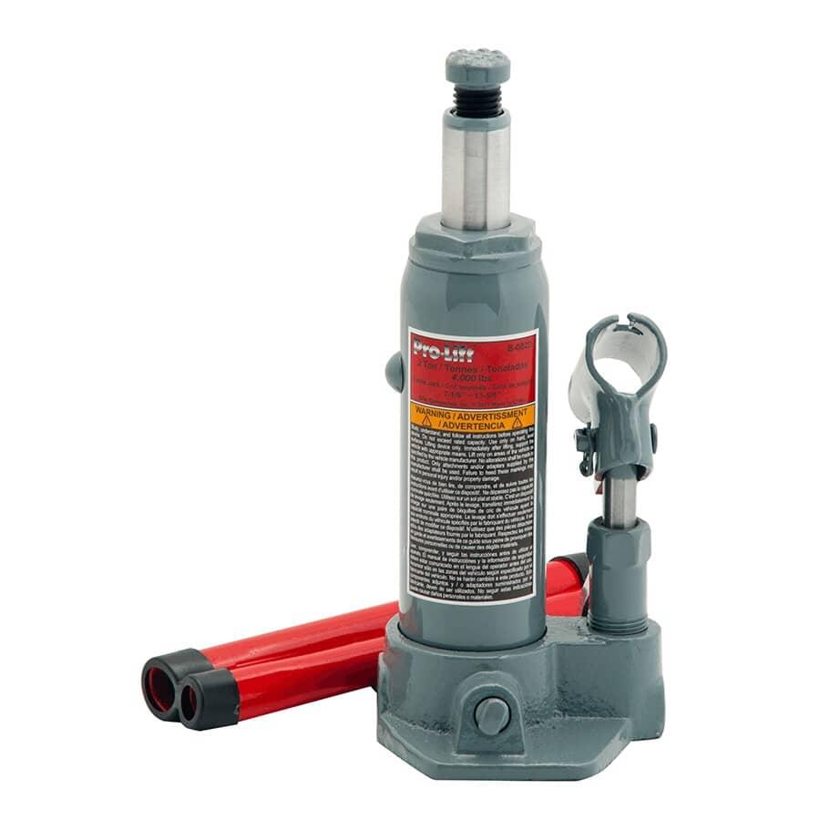 PRO-LIFT:2 Ton Hydraulic Bottle Jack