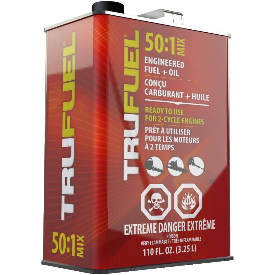 TRUFUEL:Pre-Mixed Engineered Fuel & Oil - 50:1, 3.25 L