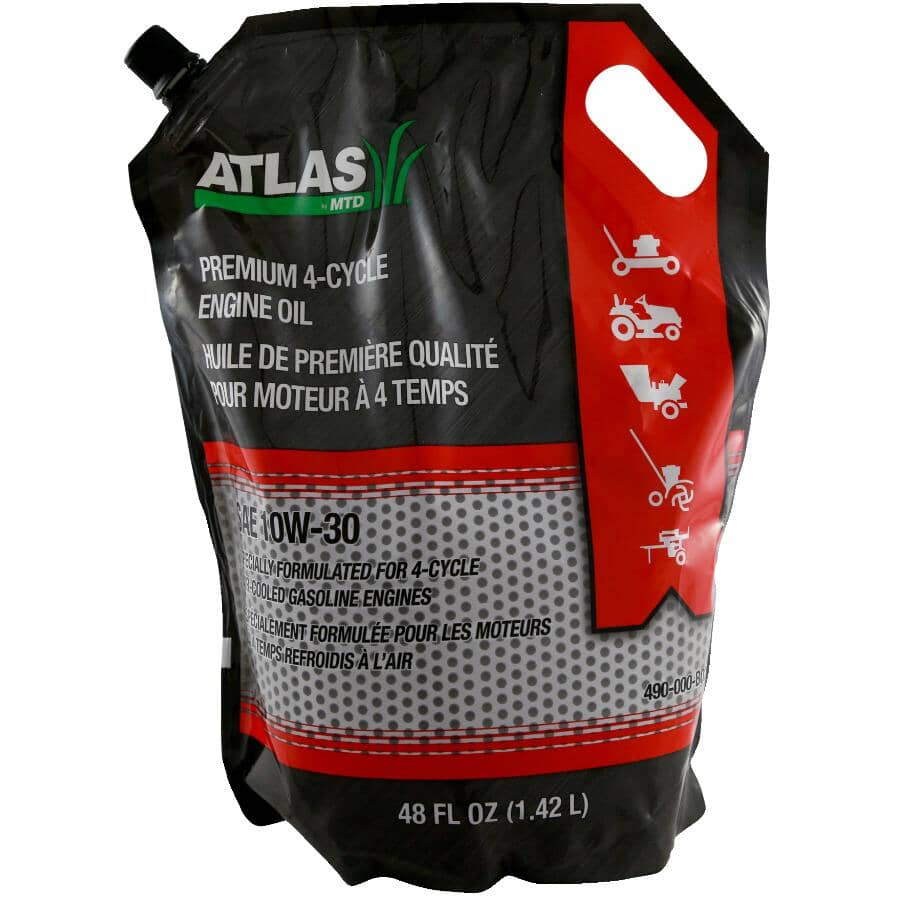 ATLAS:Premium 10W30 4 Cycle Engine Oil - 1.42 L