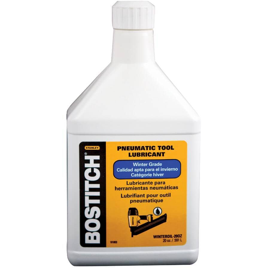 BOSTITCH:20oz Cold Weather Pneumatic Tool Oil