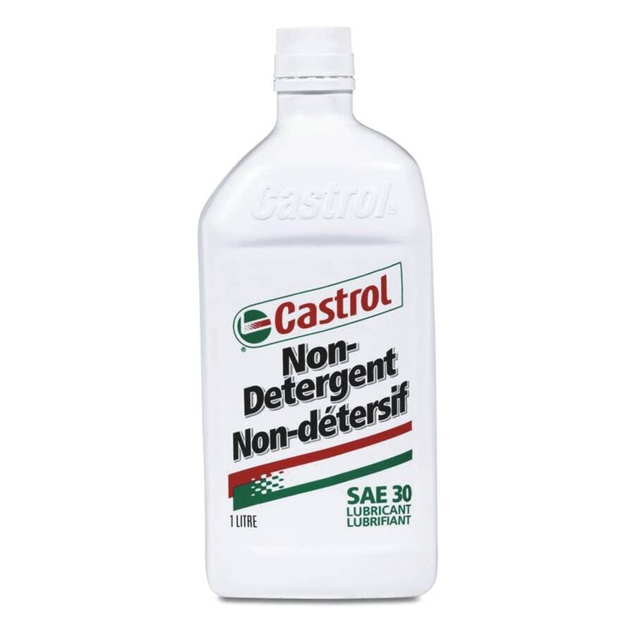 CASTROL:SAE30 Non-Detergent Motor Oil - 1 L
