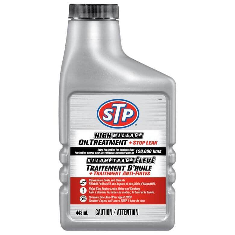 STP:High Mileage Engine Treatment - 443 ml