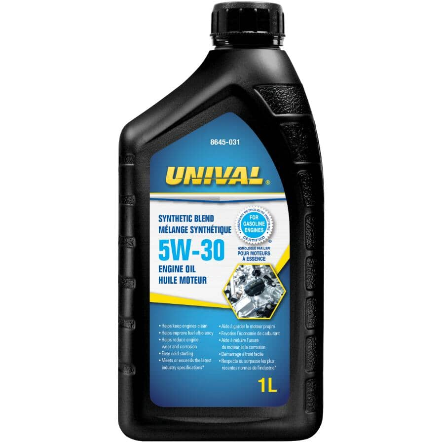 UNIVAL:5W30 Synthetic Blend Motor Oil - 1 L