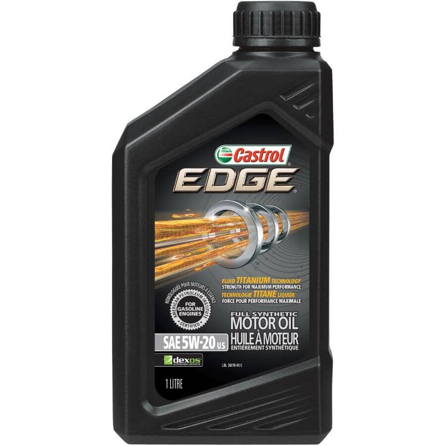 CASTROL:5W20 Edge Synthetic Motor Oil - 1 L