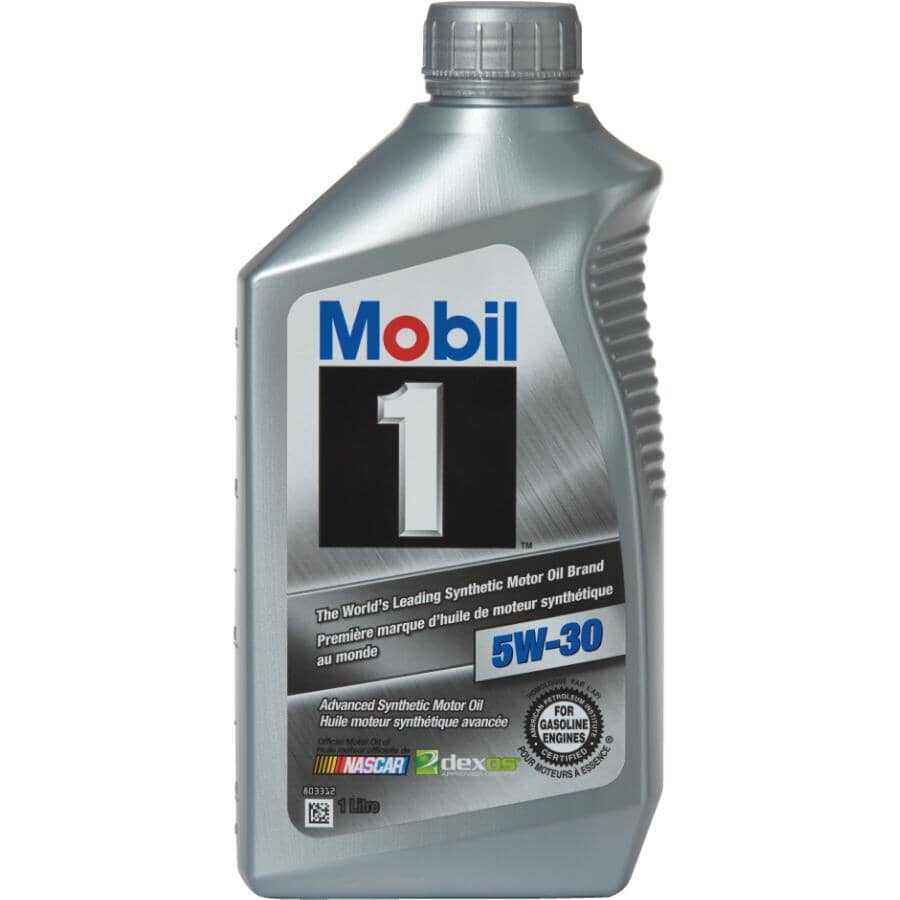 MOBIL 1:5W30 Synthetic Motor Oil - 1 L