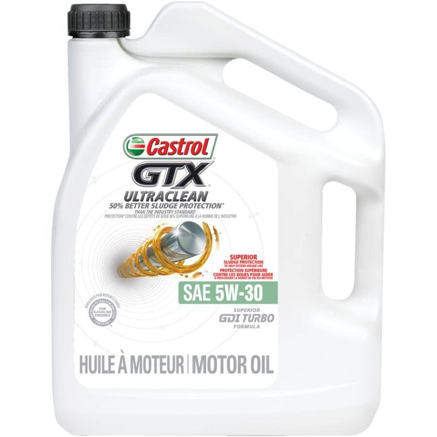 CASTROL:5W30 GTX Ultra Clean Motor Oil - 5 L