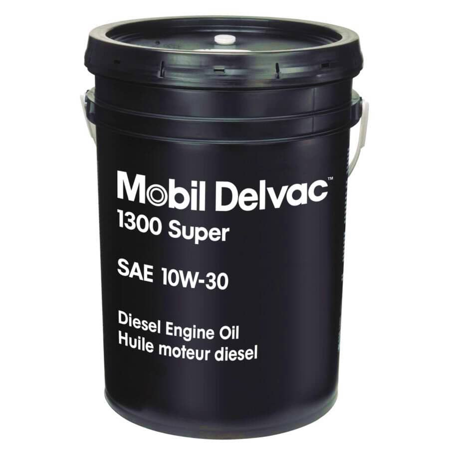 MOBIL DELVAC:10W30 1300 Super Diesel Motor Oil - 18.927 L