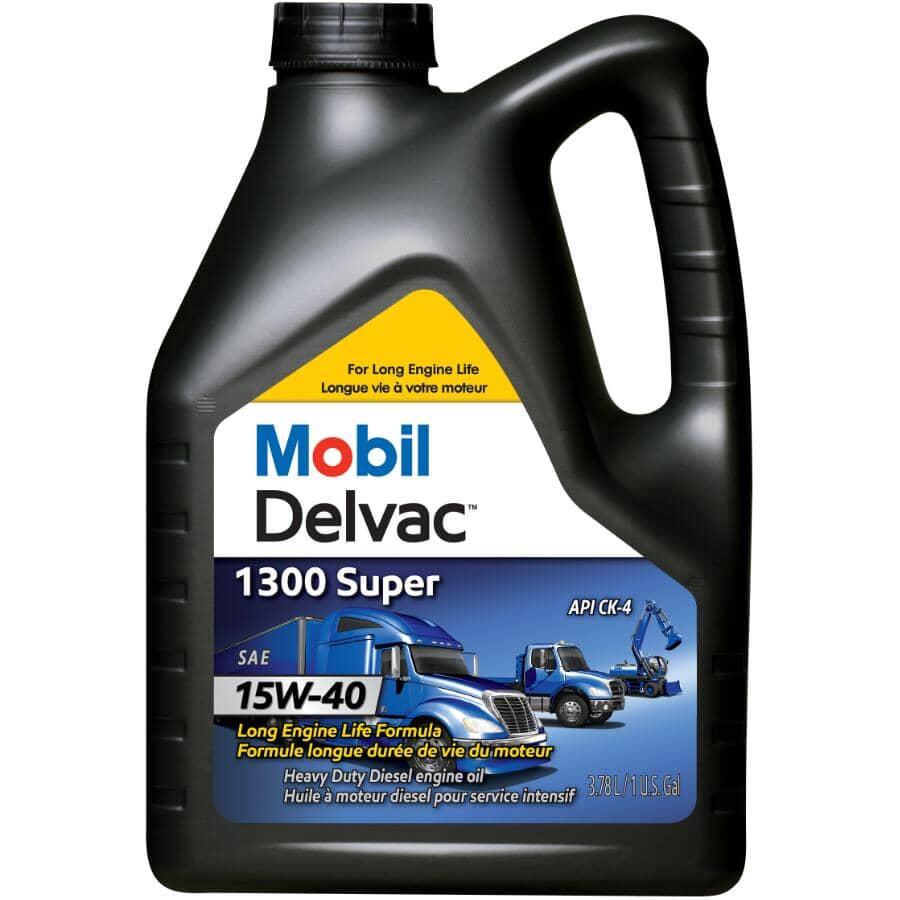 MOBIL DELVAC:15W40 1300 Super Diesel Motor Oil - 3.78 L