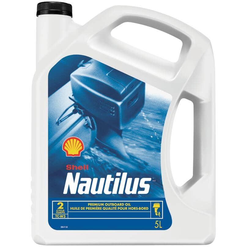 SHELL:Nautilus Premium Outboard Oil - 5 L