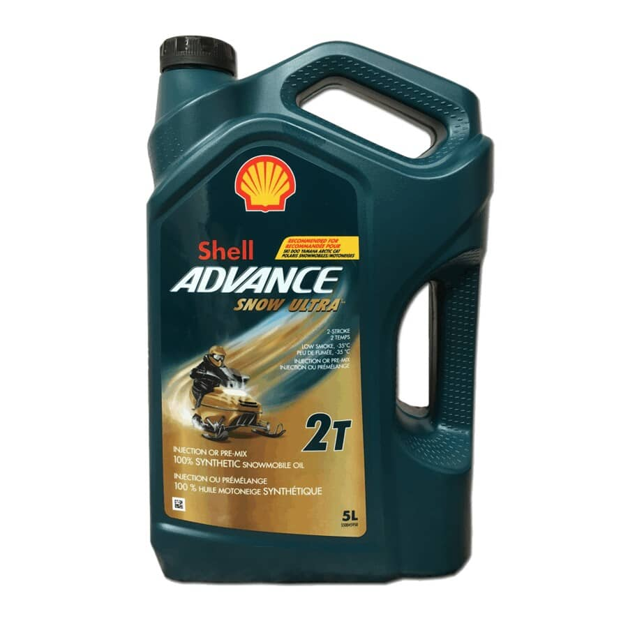 SHELL:Advance Snow Ultra Synthetic Snowmobile Oil - 5 L