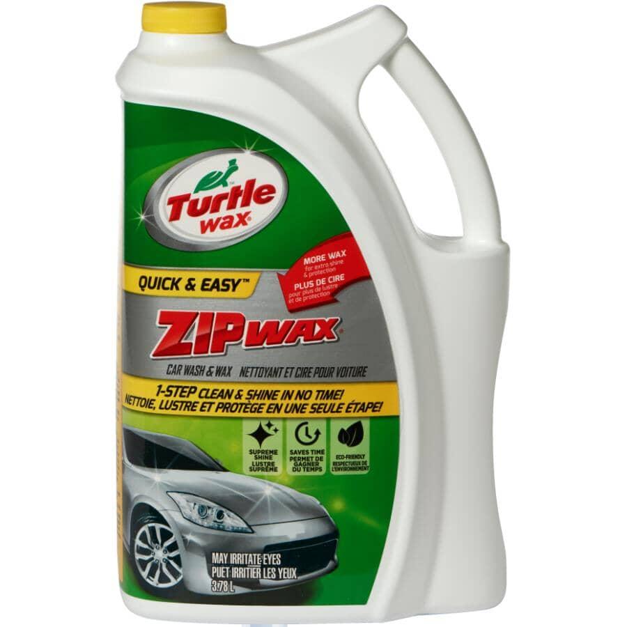 TURTLE WAX:Zip Wax Car Wash & Wax - 3.78 L