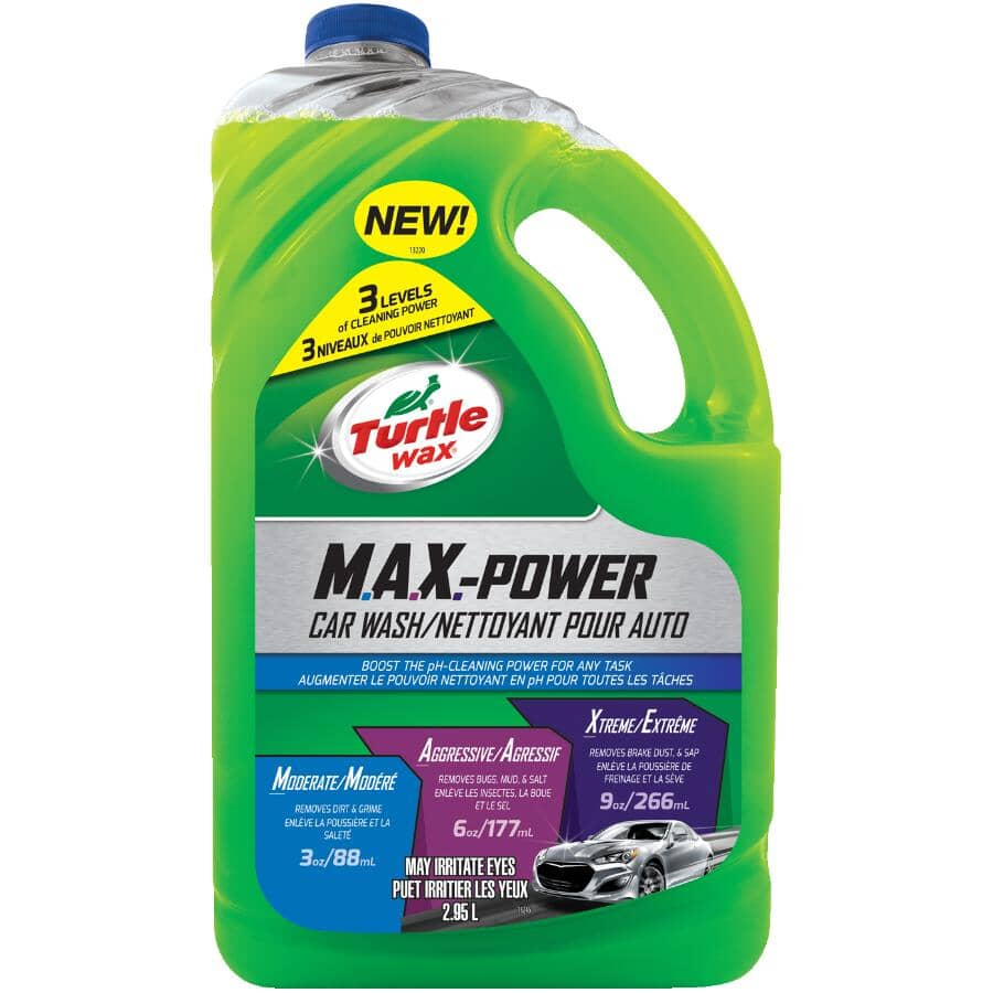 TURTLE WAX:Max Power Car Wash - 2.95 L