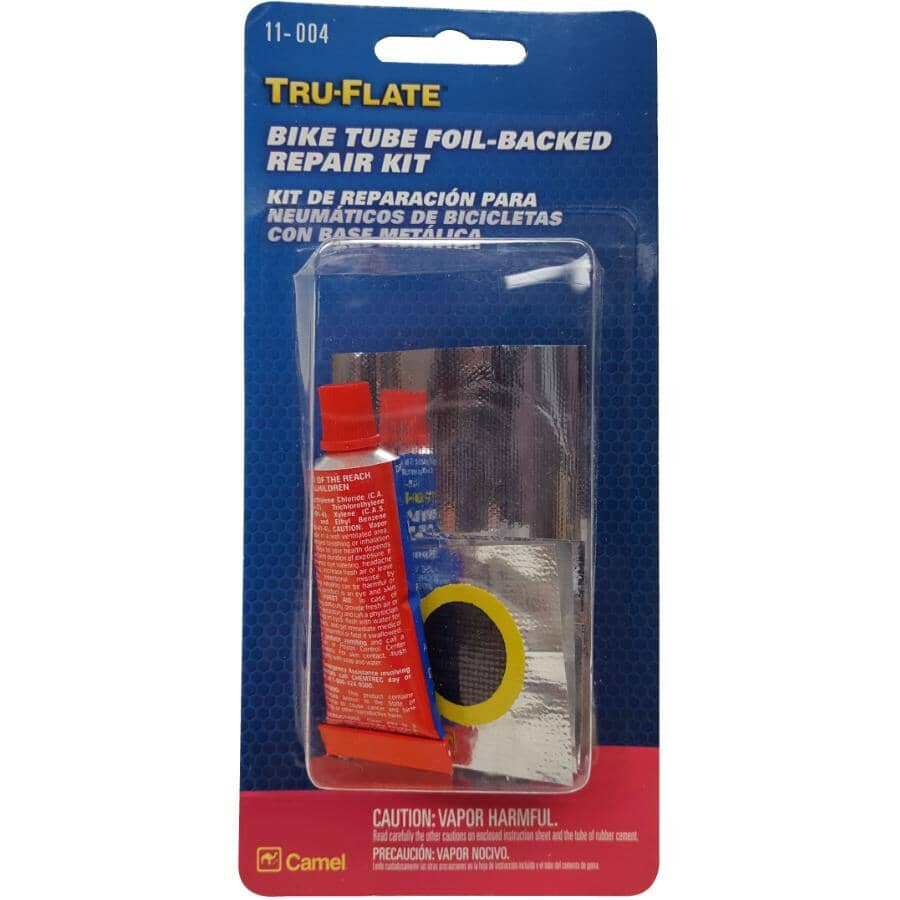 TRU-FLATE:11-004 11 Piece Foil Backed Tire Repair Kit
