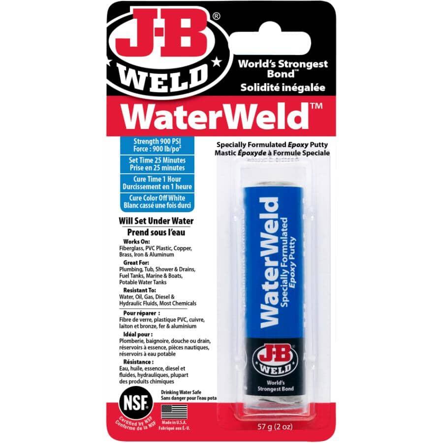 J-B WELD:WaterWeld Specially Formulated Epoxy Putty - 2 oz