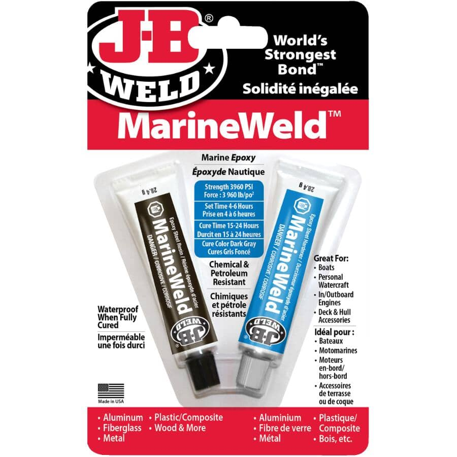 J-B WELD:MarineWeld Marine Epoxy - 56 g