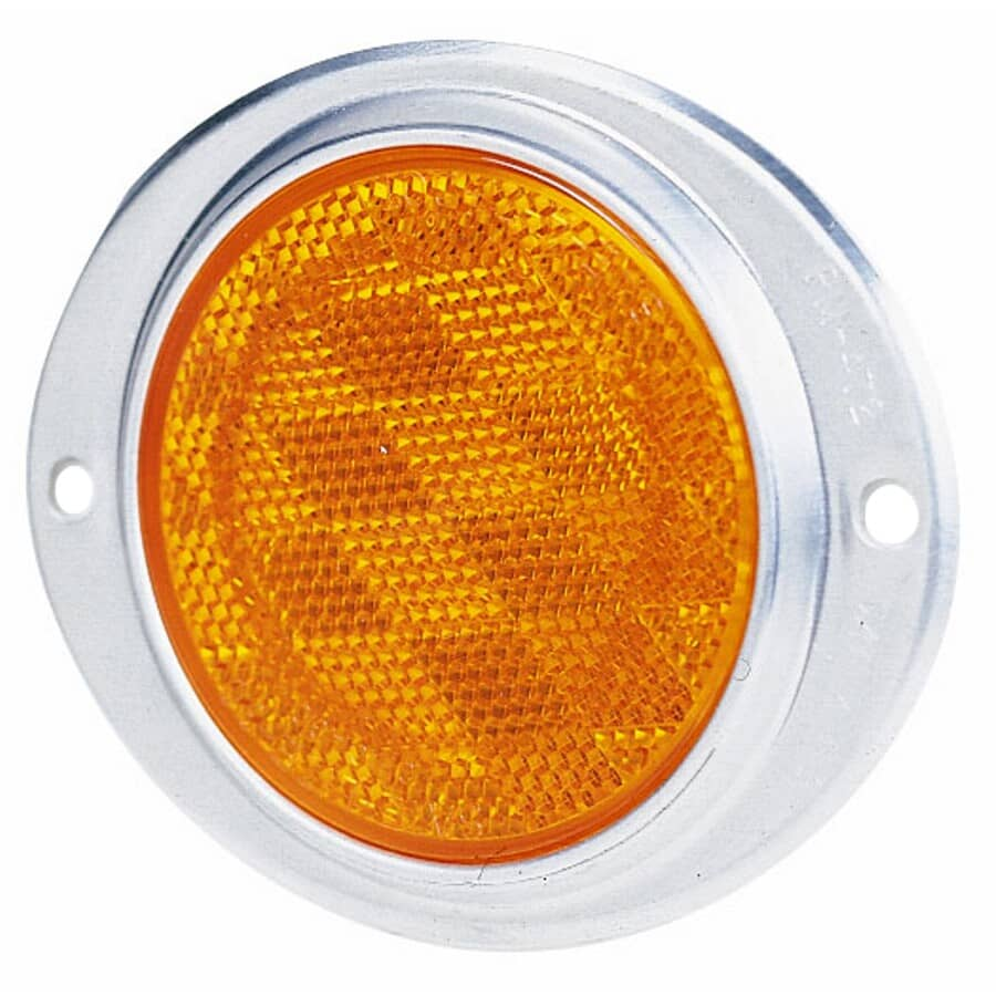 PM:Amber Oval Reflector