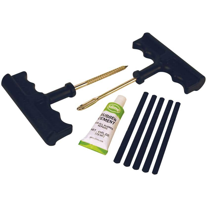 SLIME:Tire Plug Kit - with T-Handle, 8 Pieces