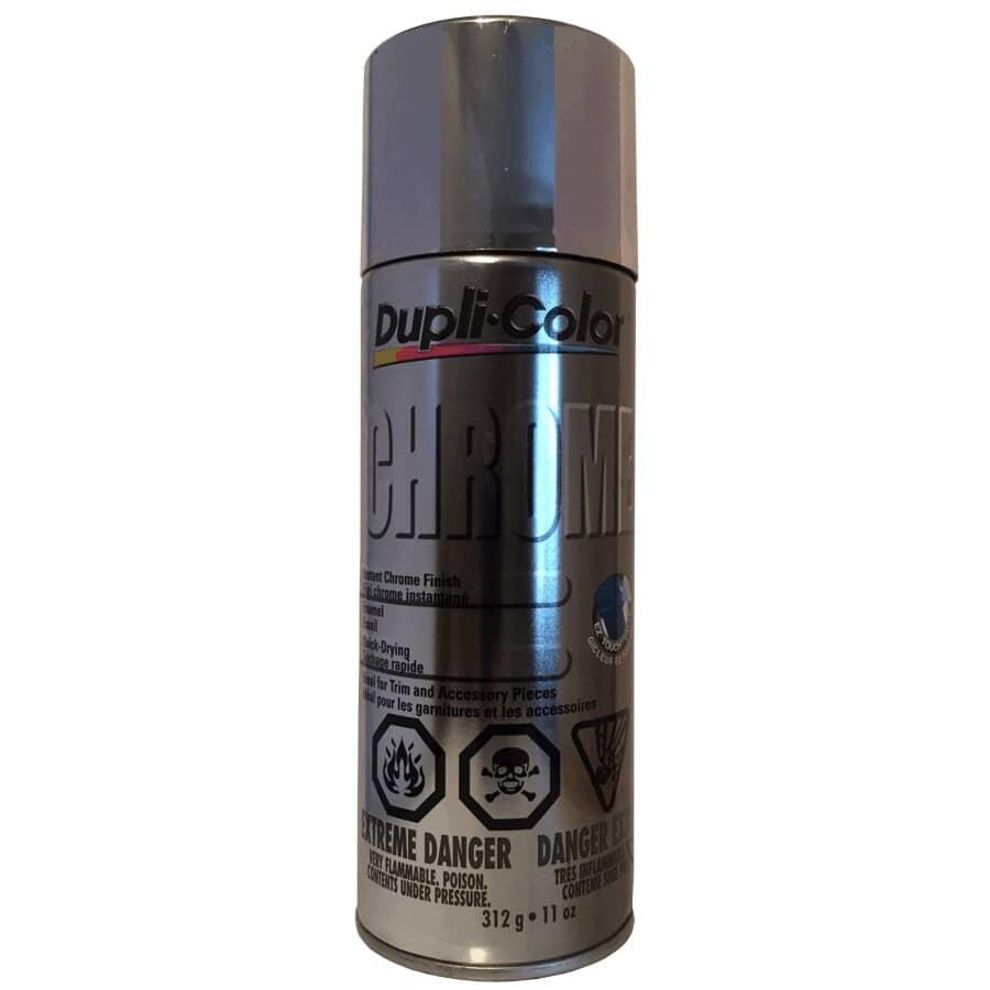 DUPLI-COLOR:Chrome Instant Metallic Spray Paint - 312 g