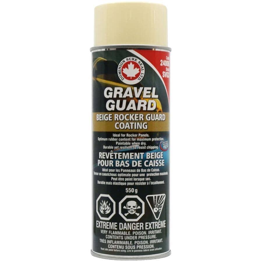 DOMINION SURE SEAL LTD.:Gravel Guard Rocker Panel Coating - Beige, 550 g